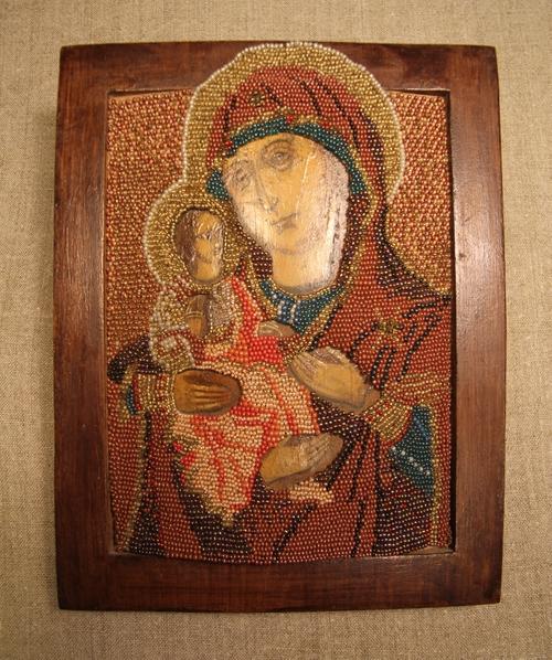 Фото для Икона Божьей Матери '''Троеручица''