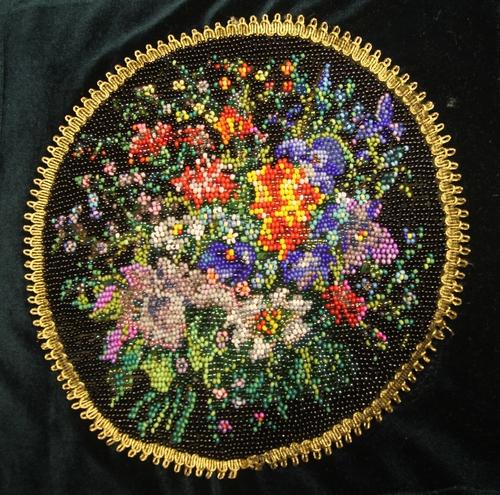 Фото для Декоративная подушка с цветочным букетом