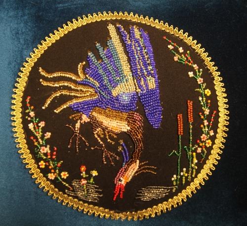 Photo of Декоративная подушка со сказочной птицей.