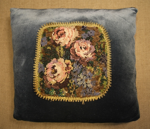 Photo of Декоративная подушка с розами
