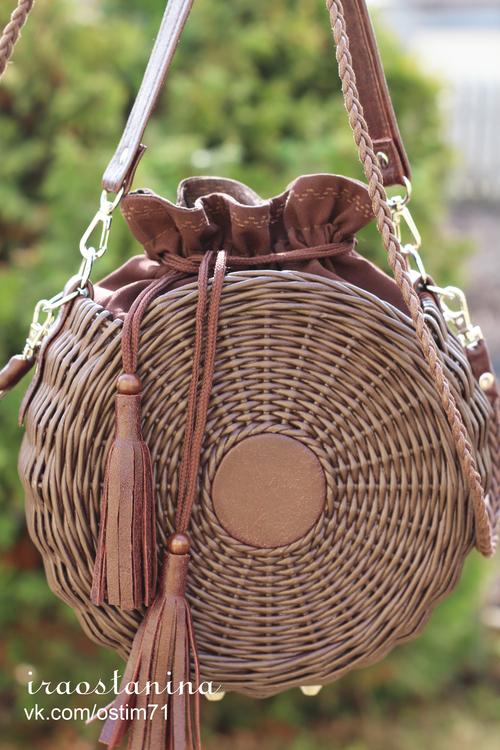 Photo of Плетеная сумочка