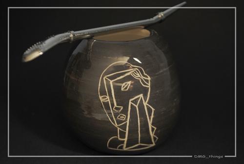 Photo of Набор для питья матэ из керамики