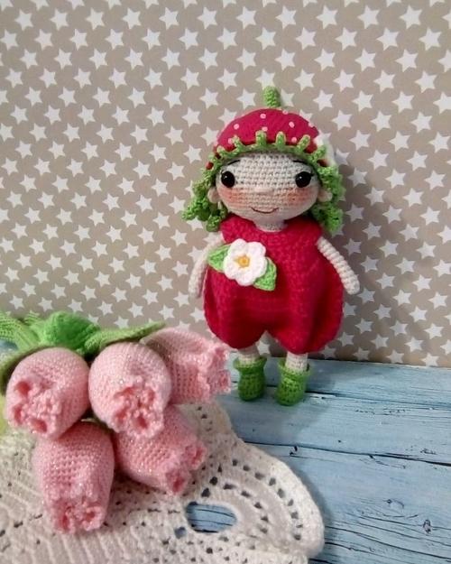 Фото для Куколка Клубничка