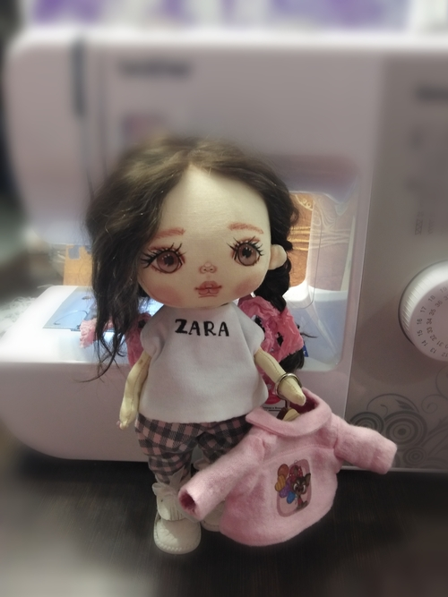 Фото для Интерьерная кукла