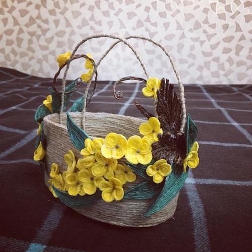 Photo of Декоративная корзина для хранения